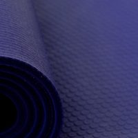 Ashtanga Yogamatte extra dick in der Farbe Königsblau