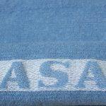 Yoga-Übungsdecke blau