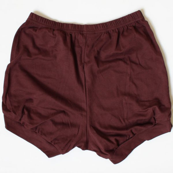 Malaika Yoga Shorts Africana Brown
