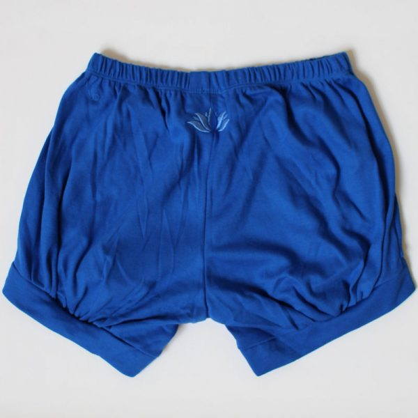 Malaika Yoga Shorts Lagoon Royale