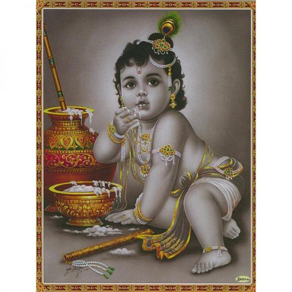 Poster Baby-Krishna