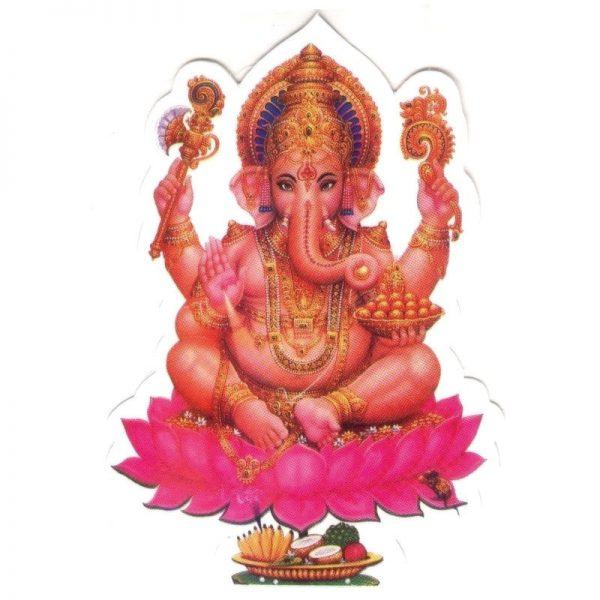 Aufkleber Ganesha