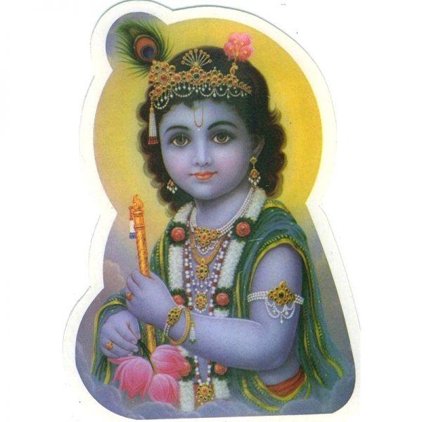 Aufkleber Baby Krishna