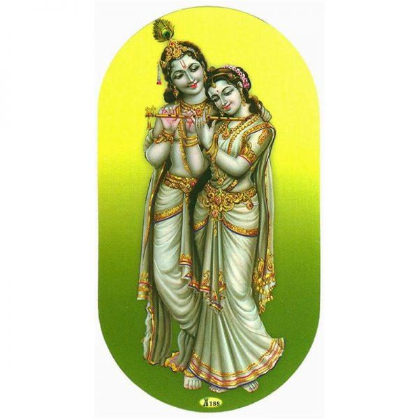 Aufkleber-Krishna