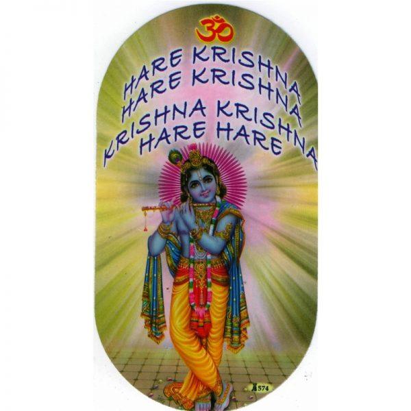 Aufkleber Krishna