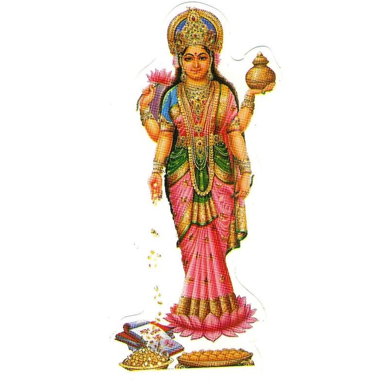 Aufkleber Lakshmi