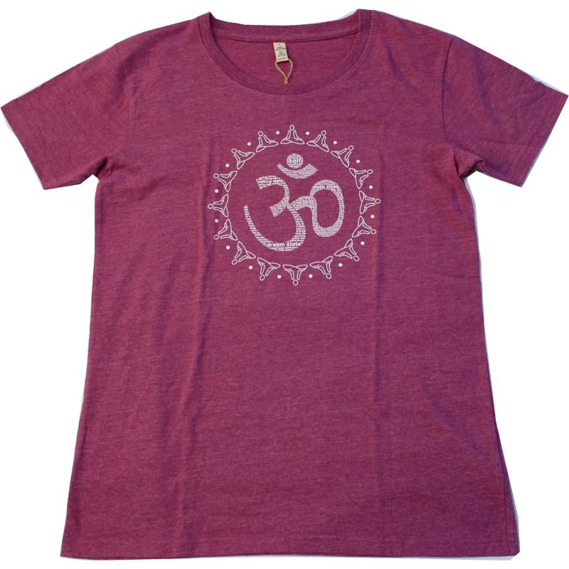Yogashirt Frauen AUM