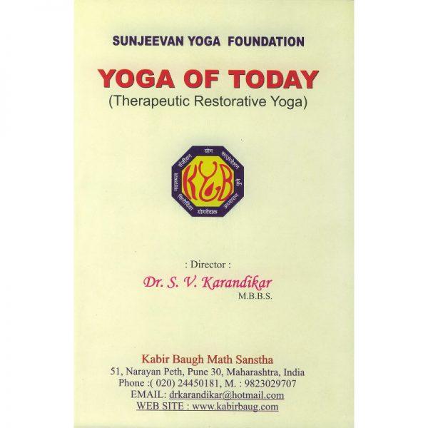 Therapeutic restorative yoga Dr. Karandikar