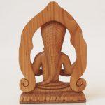 Holz-Statue Patanjali