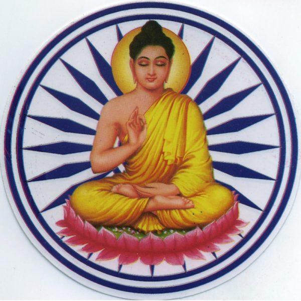 "Aufkleber Motiv ""Buddha"""
