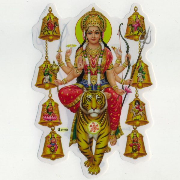 "Aufkleber Motiv ""Durga"""