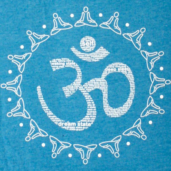 "Yoga-T-Shirt Unisex, Motiv ""AUM"""
