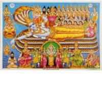 Poster Gott Vishnu