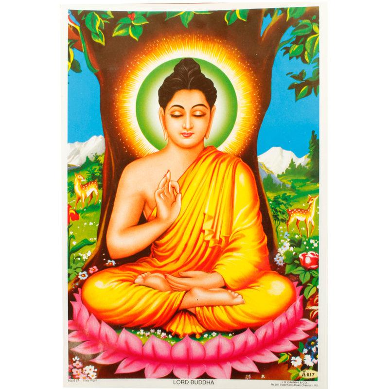 Poster Lord Buddha