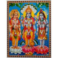 Poster Vishnu, Shiva, Brahma