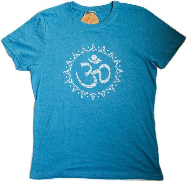 "Yoga-T-Shirt Unisex Motiv ""AUM"""