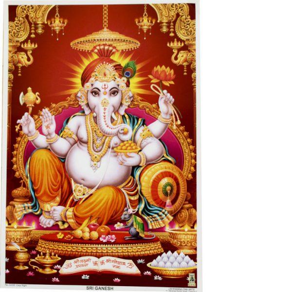 Zu sehen ist der Gott Ganesha