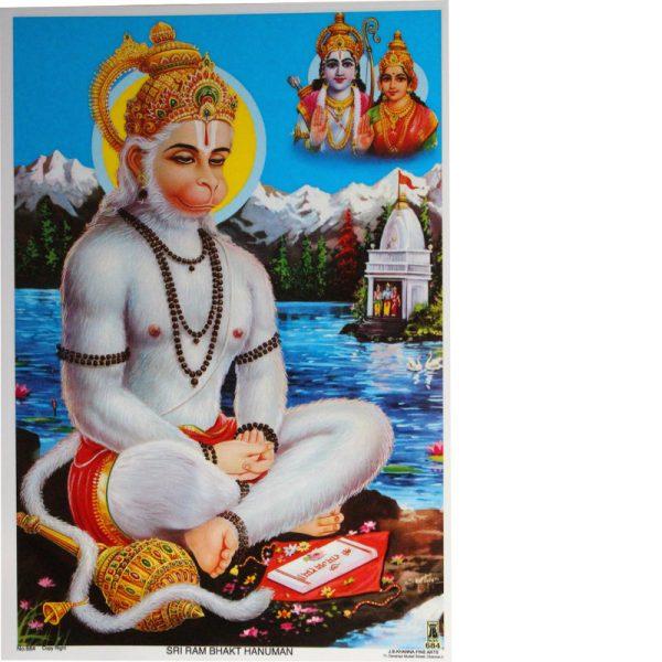 Poster Halbgott Hanuman
